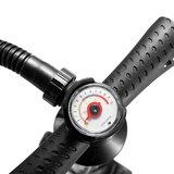 Handpomp met drukmeter - Zwart Drukmeter