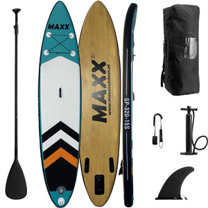 Maxxoutdoor SUP Board Ladago Blue & Wood Edition - 320cm