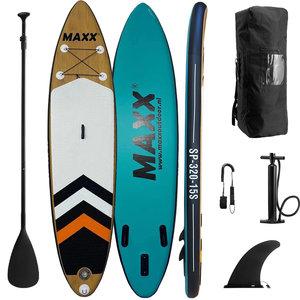 Maxxoutdoor SUP Board Ladoga Wood & Blue Edition - 320cm